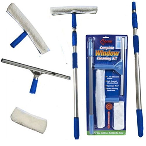 fun-daisy-window-cleaning-kit-telescopic-pole-cleaner-home-car-van-squeegee-washer