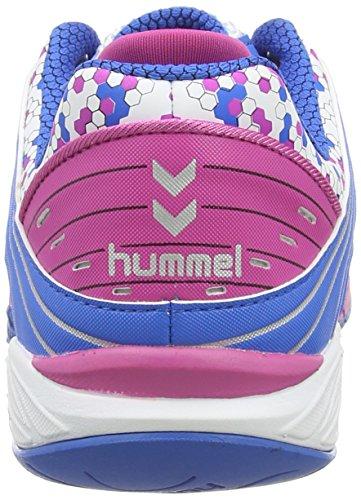 Hummel HUMMEL OMNICOURT Z6 WOMENS, Chaussures indoor femme Blanc - Weiß (White / Rose Violett / Directoire B 9798)