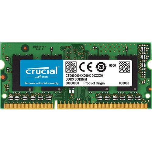 Crucial 8GB DDR3L 1600 MT/s  (PC3L-12800) SODIMM 204-Pin -CT102464BF160B