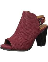 Gentle Souls Women's Shiloh Slingback Peep Toe Bootie Ankle Boot