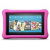 Das neue Fire HD 8 Kids Edition-Tablet, 20,3 cm (8 Zoll) HD Display, 32 GB, pinke kindgerechte Hülle