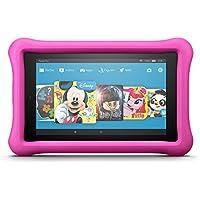 Fire HD 8 Kids Edition-Tablet, 20,3 cm (8 Zoll) HD Display, 32 GB, pinke kindgerechte Hülle