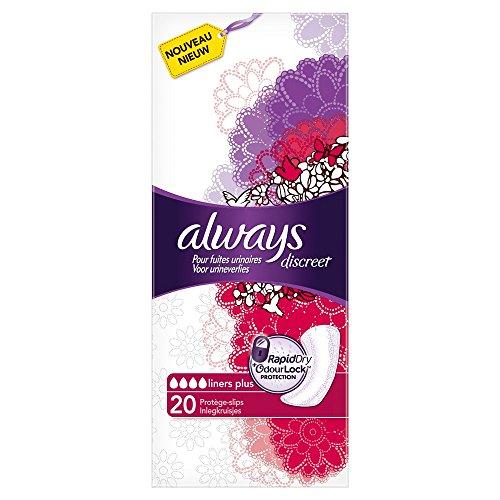 always-discreet-protege-slips-plus-pour-fuites-urinaires-et-incontinence-x20-lot-de-3