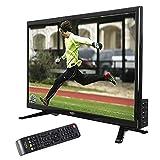 netshop 25 Xoro HTL 2448 60cm (24 Zoll) LED Fernseher (HD-Ready, Triple Tuner DVB-S2/T2/C H.265/HEVC-Decoder, PVR Ready + Timeshift, USB 2.0 Mediaplayer, CI+, 12V) [Energieklasse A] schwarz