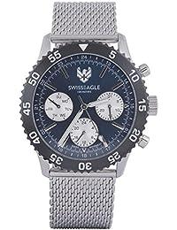 Swiss Eagle Analog Blue Dial Men Watch- SE-9118-11