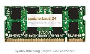 & rAM 1Go rAM upgrade (-compaq hP») pour ordinateur portable hP compaq 2510p» 200 broches sO-dIMM dDR2 pC 2-5300», 667 mHz