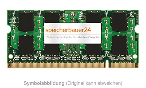 1GB Arbeitsspeicher - 200pin SO-DIMM DDR2 667MHz, PC2-5300 - passend für Apple MacBook Intel Core 2 Duo (2007) - RAM-Upgrade -