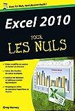 Excel 2010 pour les Nuls poche