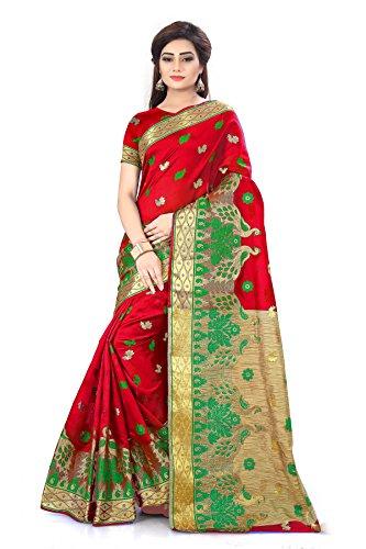 Royal Export Women's Cotton Silk Saree