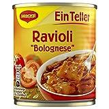 Maggi Ein Teller Ravioli Bolognese, 340 g