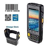 Handheld Android Barcode Scanner Terminal POS mit NFC Funktion/Industrielles Barcode Scanner NFC / 3G / 4G / Wifi/Ladestation/ 2D-Scanner/Inventory Machine/Datenkollektor/Model IPDA048