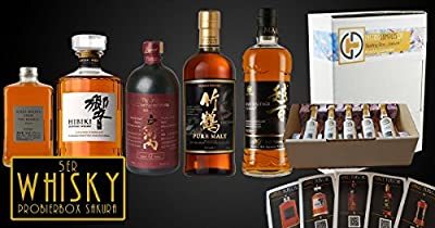 "Tasting Samples Whisky Tasting Box ""Sakura"" japanische Whiskys"
