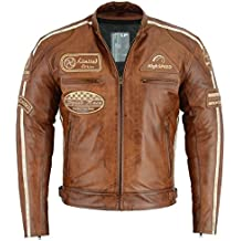 designer fashion dbeda df684 Amazon.it: Giacca da moto - Marrone