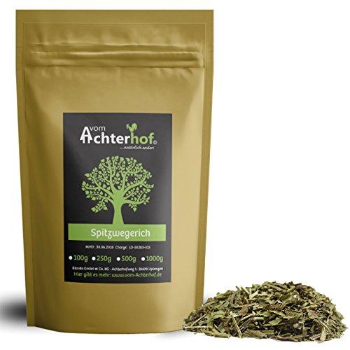 1 kg Spitzwegerichblätter geschnitten Juglandis Fol. conc. Spitzwegerich-Tee natürlich...