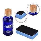 Yunt Kit de Liquide d'Anti-rayures de Voiture Manteau en Céramique Super Hydrophobique 9H Protection de Peinture d'Auto Brillant Élevé et d'Anti-corrosion