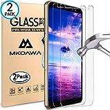 Samsung Galaxy A8 2018 Panzerglas Schutzfolie, MKOAWA  geh�rtetem Glas Displayschutzfolie 0,25 mm Displayschutzfolie Glas f�r Samsung Galaxy A8 2018 Bild