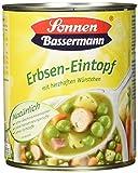 Sonnen Bassermann Erbsen-Suppentopf , 800 g Dose