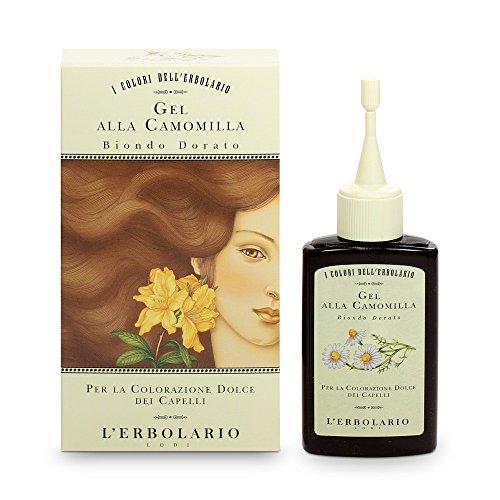 L'Erbolario Gel Riflessante Biondo Dorato 70 ml (goldblond, Gel mit Kamille), 1er Pack (1 x 70 ml)