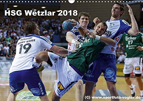 HSG Wetzlar - Handball Bundesliga 2018 (Wandkalender 2018 DIN A3 quer): HSG Wetzlar, Handball Bundesliga, Saison 2013/2014 (Monatskalender, 14 Seiten ... [Apr 01, 2017] Oliver Vogler, Sportfoto