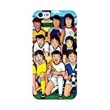 EREMITI JEWELS Cover Personalizzata con Immagine Holly E Benji Team Smartphone iPhone 5 5C 6 6S 6 Plus 6S Plus 7 7PLUS 8 8PLUS X XR XS XSMAX (iPhone 7)