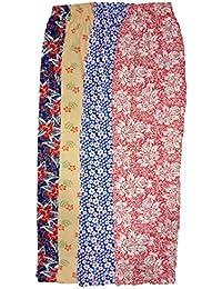 Women's Cotton;Viscose Printed Pajama (Pack of 4)