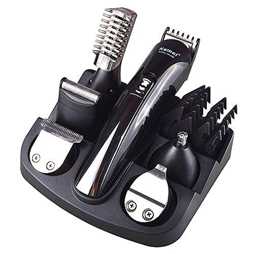 Nikai Haarschneider Set Bart-Nasen Trimmer Haarschneidemaschine Rasierer Neu