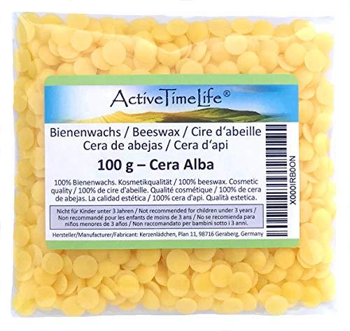 100{022934385abb770fd533e04ca37349ff7bde00765f3fb71bc67c5ab03ae6b8c7} reine Bienenwachs Pastillen Bio, gelb, 100 g, für Kosmetik Kerzen Cremes Salben Seifen