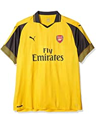 Puma Trikot AFC Away Replica Shirt, Spectra Yellow de Ebony, 3 x l, 749714 03