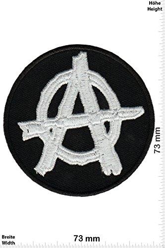 Parches - Anarchy - Black White -Punks - No Nazi - Punk - Parche...