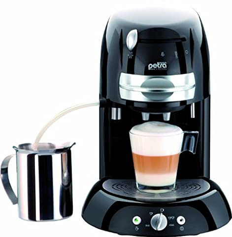 PETRA - ELECTRIC Petra-electric KM 42.17 - Kaffeemaschine mit Cappuccinatore