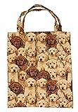 Ying-Sing Chang Einkaufstasche mit Innentasche mit Hundemotiv