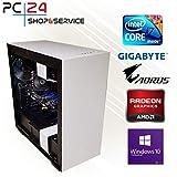 PC24 NZXT GAMER PC | INTEL i7-8700K @6x4,50GHz | 500GB M.2 970 EVO SSD | AMD Radeon RX 580 mit 8GB RAM | 16GB DDR4 PC2133 RAM G.Skill | GA Z370 AORUS Ultra Gaming Mainboard | Windows 10 Pro | i7 Gaming PC