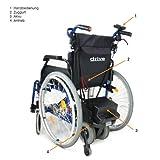 Drive Medical S Drive Powerstroll elektrische Schiebehilfe für Rollstühle