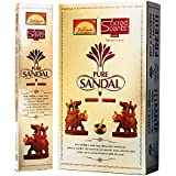 Parimal Sacred Scents Natual Pure Sandal Incense Sticks Box | 6 Packs Of 28 Grams In A Box | Export Quality