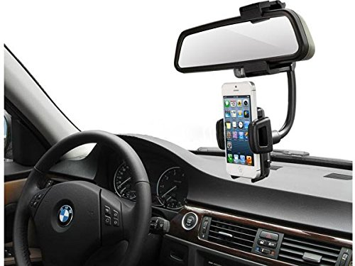 System-s per Auto specchietto retrovisore per GPS cellulare Smartphone iPhone e altri (Gps Specchietto Retrovisore)