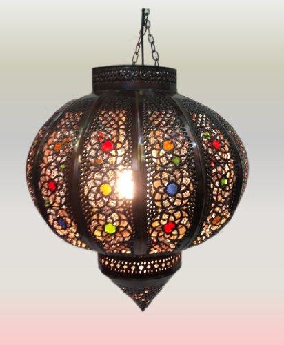 Orientalische Marokkanische Lampe Leuchte - Ball - Di 42cm