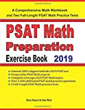 PSAT Math Preparation Exercise Book: A Comprehensive Math Workbook and Two Full-Length PSAT