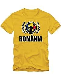 Rumänien EM 2016 #2 T-Shirt | Fußball | Herren | Trikot | Tricolorii | Nationalmannschaft © Shirt Happenz