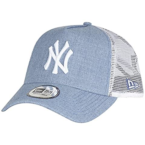 New Era Men Caps / Trucker Cap MLB Heather blue Adjustable