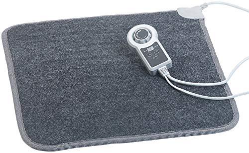 infactory Heizteppich: Beheizbare Infrarot-Fußboden-Matte, Vliesstoff, 50x55 cm, 60 °C, 66 W (Fussheizung)