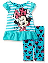 Disney Baby Girls 2 Piece Minnie Always In Style Top and Printed Legging