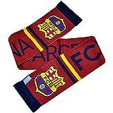 FC Barcelona Winter Schal Streifen mit Club Wappen