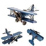 Omiky® Hobby Mini Fliegen Hubschrauber Ersetzen Flugzeug Spielzeug Geschenk für Kinder (Blau)