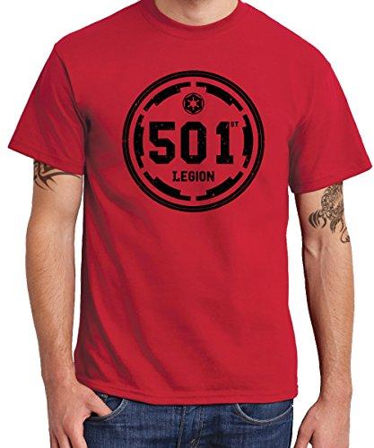- 501st Legion - Boys T-Shirt Rot, Größe ()