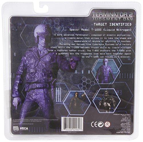 NECA Figura Terminator T1000 Niitrógeno Líquido (18 cm) 2