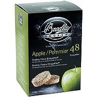 Bradley Fumatore di Apple Flavour Bisquettes (confezione