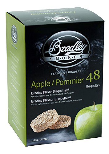 bradley-smoker-apple-saveur-pecan-lot-de-48