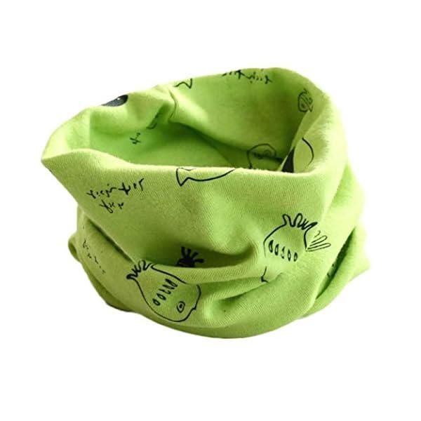 RETUROM Bebé pañuelos de cuello, cuello del algodón del bebé unisex de la bufanda del ringneck pájaro del invierno del… 3