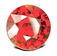 Be You Orange Colour Cubic Zirconia AAA Quality 1.5 mm Diamond Cut Round Shape 1000 pcs loose gemstone