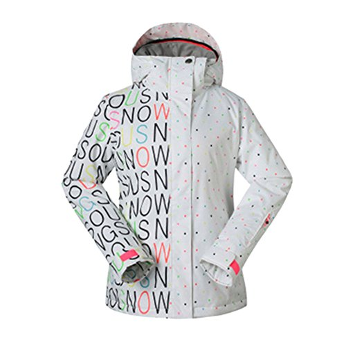 Meijunter Frauen Winter Hoodies Warme Skianzug Wasserdichte Snowboard Jacke Wandern MäntelS